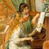 【絵画の解説】ルノワール「ピアノを弾く少女たち」【晩年の傑作】