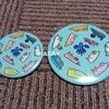 ウミウシのイラスト缶バッチ&鏡
