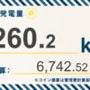 6/23〜6/29の総発電量は619.4kWh(目標比108.7%)でした