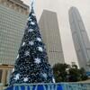 【わくわく香港】スタチュースクェア(銅像広場)のクリスマス・ツリーは美しい輝き