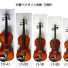 練習用のバイオリン