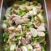 豚バラとカブの生姜煮