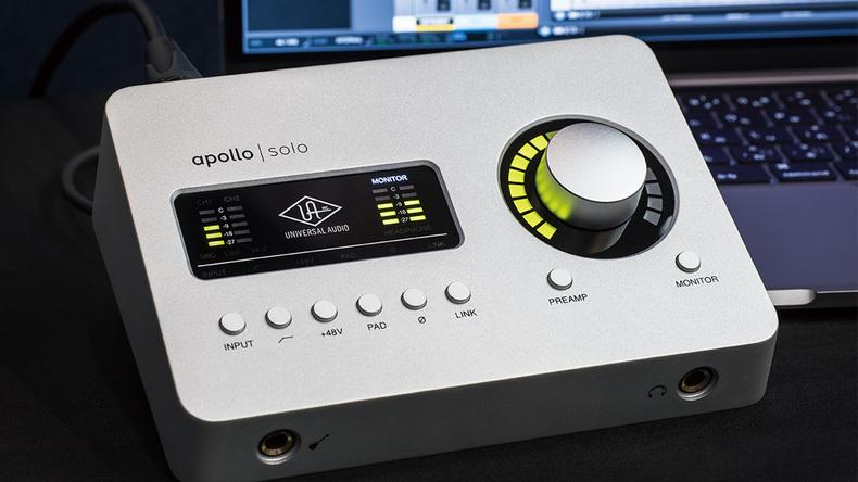 UNIVERSAL AUDIO Apollo Solo/Apollo Solo USB 〜Rock oN Monthly Recommend vol.28