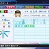 仁藤投手、引退する(パワプロ2018マイライフ・3年目)