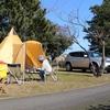 2017キャンプ始めは琵琶湖畔で@マイアミ浜オートキャンプ場