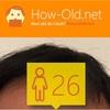 今日の顔年齢測定 308日目