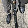 鏡面磨き paraboot chambordで自転車通勤 楽天カードでお得に革靴購入も
