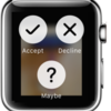 Apple Watchのコントロールメニュー