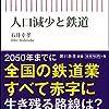 【読書感想】人口減少と鉄道 ☆☆☆☆