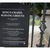 ボストン暮らし〜キングス・チャペル墓地は散歩コースとして人気!〜