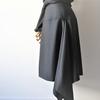 アシンメトリーなヨークスカート④裏スカート縫い合わせ。