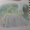 色鉛筆で風景画を描こう