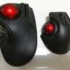 トラックボールマウスは人差し指タイプと親指タイプどちらが使いやすいのか