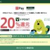 三井住友カード、UNIQLO Payに登録して買い物で20%還元【5/10〜27まで】