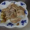 幸運な病のレシピ( 1771 )朝:鶏モモじっくり焼き(ニンニク白ワイン)、豚ソテーきんぴら、いわし丸干し、鮭、味噌汁