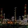 茨城旅行②鹿島工場夜景②