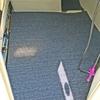 床材には「タイルカーペット」がてきめんです❗ 【 キャビン内のフロアをリニューアル / YAMAHA・UF-20 】