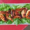 表面がクリスピー(^^♪焼鳥屋で食べるより美味しいよ~。<鶏手羽肉のローズマリー焼き>