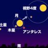 【月と木星がコラボ】本日6月16日の夕方から17日未明にかけて、月齢13の満月前の月と木星が大接近して見える!木星は6月11日に『衝』となったばかりでマイナス2.5等級超え!!