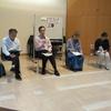 8日、県政つくる会が三春町でタウンミーティング