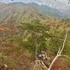 【諏訪山】西上州の岩山! 時間切れで手前の三笠山まで…。でもたっぷり岩場は味わえます!《日帰り登山》2016年10月30日
