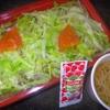パーラー「花」の「タコライス」(スープ付き) 300円
