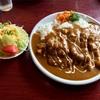 🚩外食日記(81)     宮崎ランチ   「レストラン ラブ 」② より、【かつ(ヒレ)カレー】‼️