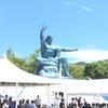 原水爆禁止世界大会in長崎でペナントが飾られていました