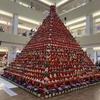 日本一のひな祭り 鴻巣駅で開催 その大きさは圧巻! アマビエ雛も登場