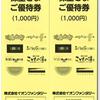 イオンファンタジー・株主優待券