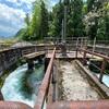 貝田新円筒分水槽へ《片貝川の水めぐり・その3》
