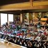 いいづか雛の祭り・旧伊藤邸、麻生大浦荘、千鳥屋本家の座敷雛とつるし飾り