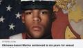 キャンプ・フォスター (瑞慶覧) の海兵隊員、基地内のレイプと性的嫌がらせで懲役6年の判決 - 在沖海兵隊、女性や子どもを標的にした性犯罪が多く海兵隊は四軍の中で最も性暴力が多いという