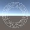 【Unity】ワイヤーフレームシェーダを導入する