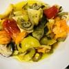 お盆期間のメニューネタ切れ。ギリシャ料理が夏野菜消費にぴったりだった。