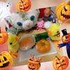 かぼちゃの和菓子とかぼちゃのお友達♪