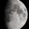 今宵の月(月齢10.222)