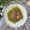 作ったソースで簡単調理☆しソースを使った大葉のジェノベーゼパスタの作り方☆アレンジ【レシピ】