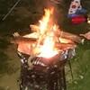 灼熱のキャンプ
