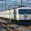 1月11日撮影 東海道線 平塚~大磯間 185系とその他モロモロ