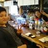 カラダに優しい食事と飲み物を提供する中学の同級生が経営している大阪・京橋のカフェ居酒屋「灯(あかり)」さん。