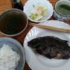 焼き魚と白菜の浅漬け