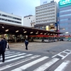 新潟駅前のバスターミナルを見てきました(^o^)