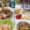 いろいろ作って昼飲み☆ゴーヤチャンプルー☆鯛のカブト煮☆エビマヨ等々☆