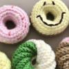 【委託販売・Web shop掲載】ドーナツのあみぐるみ