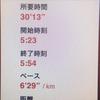 19/03/07 朝ラン記録