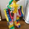 ニューブロック・ロボット女の子(三つ編み)