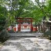 大原野神社と森林公園。