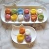 虹色*お菓子の天然色素の種類について*ビート、ターメリック、緑茶、バタフライピーの使い方*