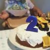 息子2歳の誕生日を振り返る。